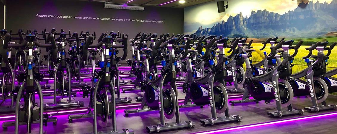 La nova sala de cycling S.XXI